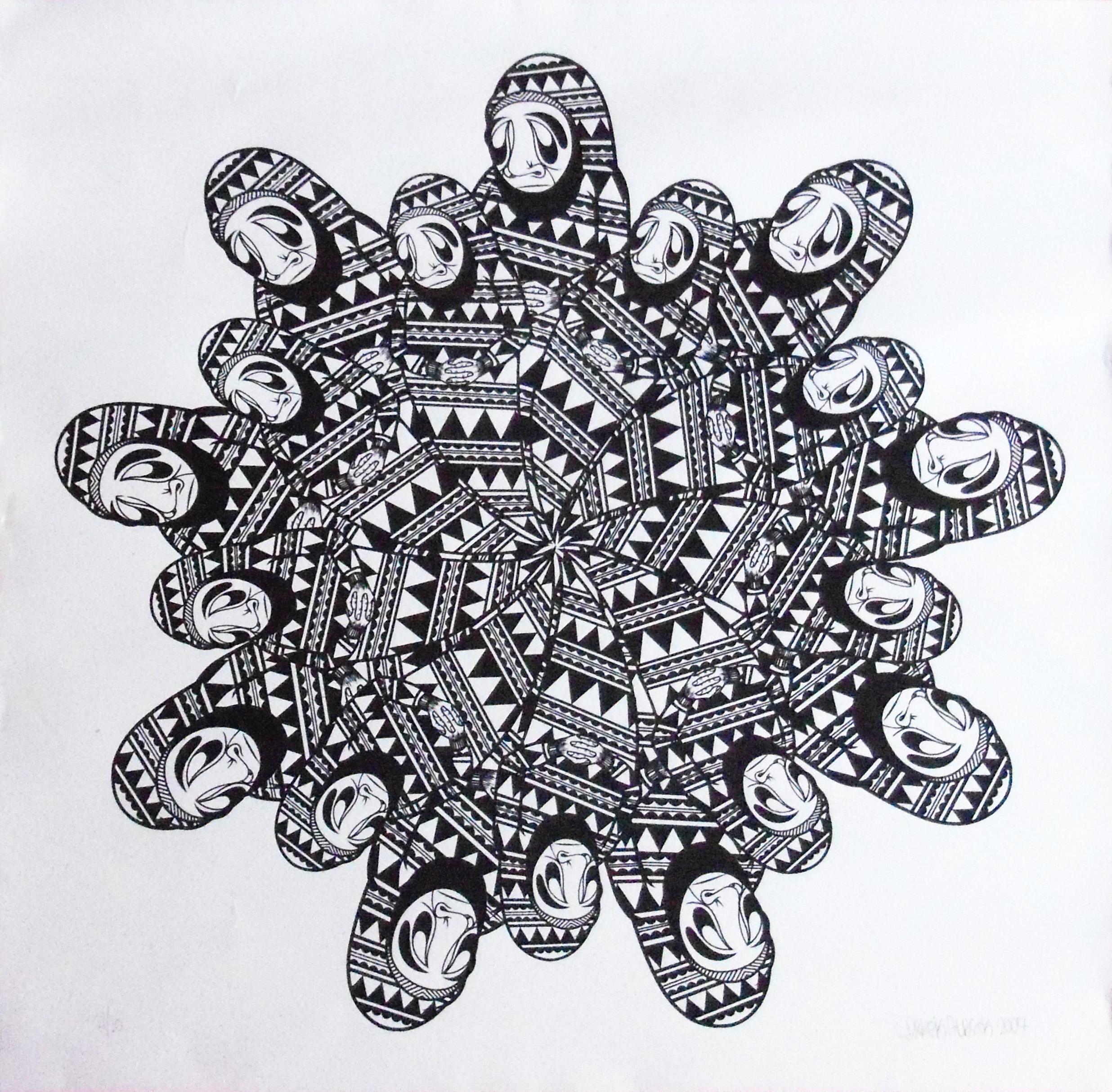 Large Silkscreen Art | Shellie Lewis' Blog