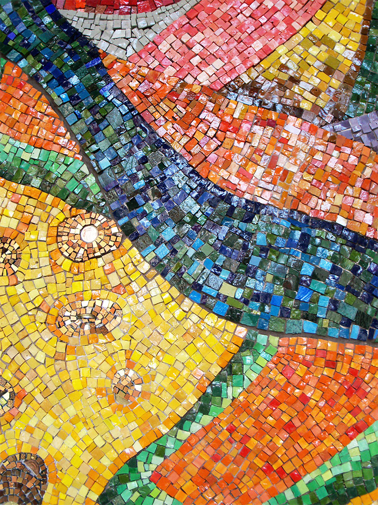 Colorful Mosaic Wall Art | Shellie Lewis' Blog