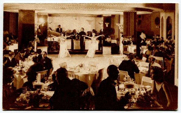 35 antique post card Stevens Chicago 1920s