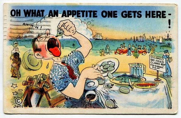 39 antique post card 1937