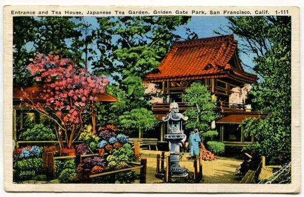 41 antique post card 1936