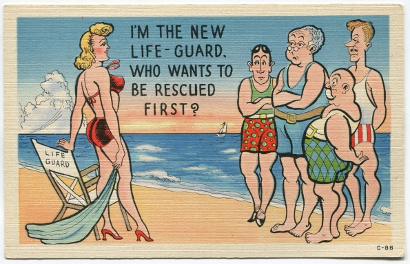 58 antique post card