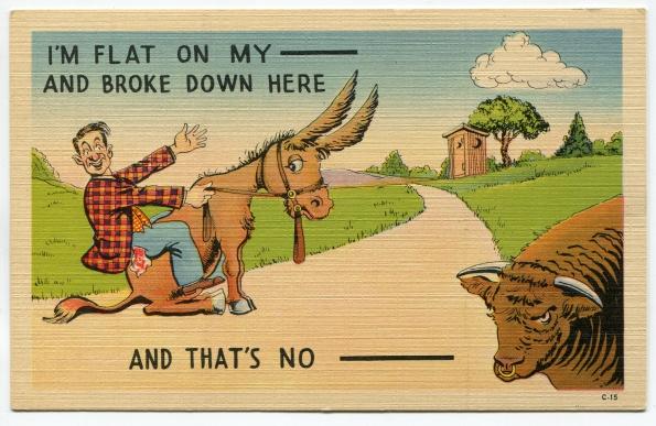 61 antique post card