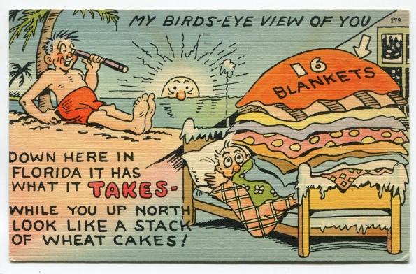 63 antique post card 1949