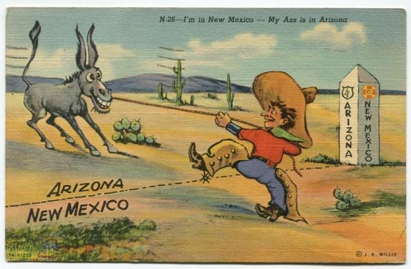 67 antique post card 1947