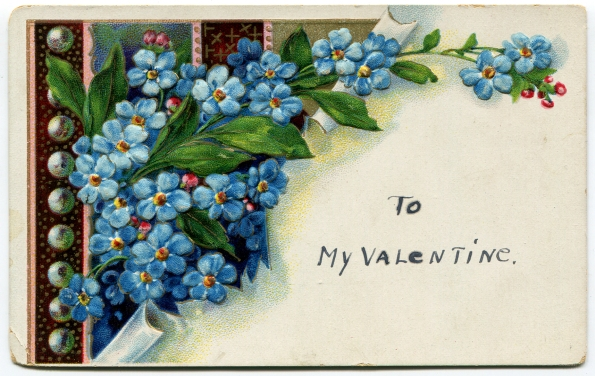 79 antique post card Valentine