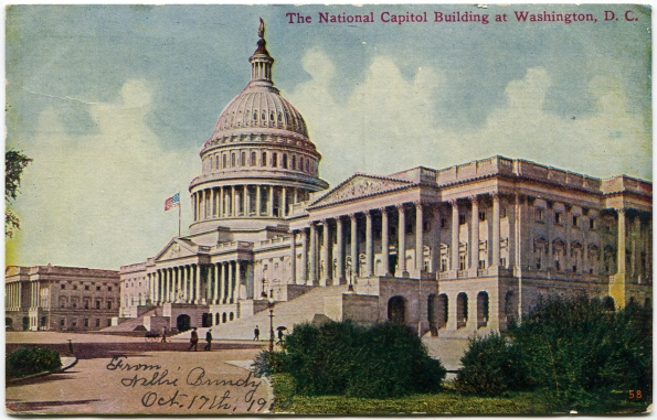 80 antique post card 1910 Washington DC
