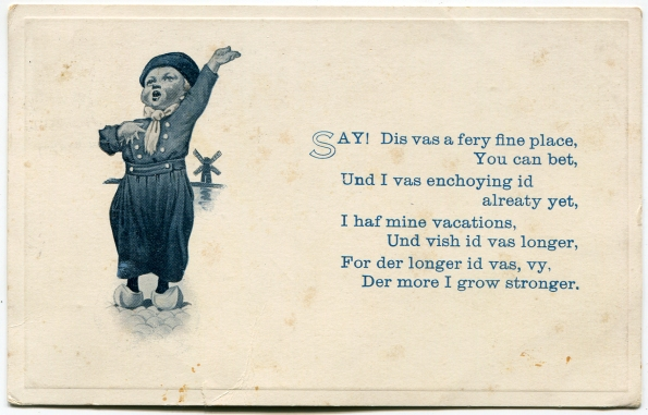 82 antique post card 1915