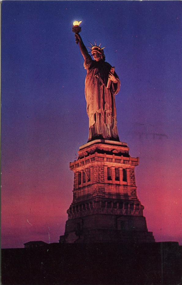 Postcard NYC 1961