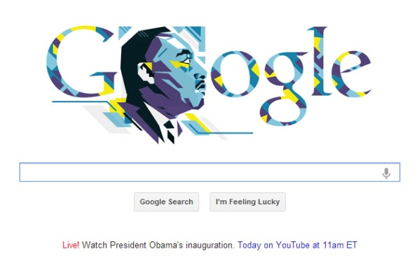 Google Jan 21 2013