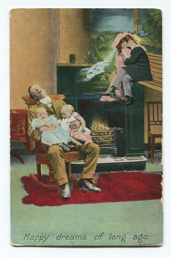 114 antique postcard