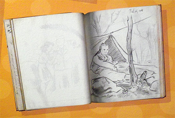 Charles-Schulz-sketchbook