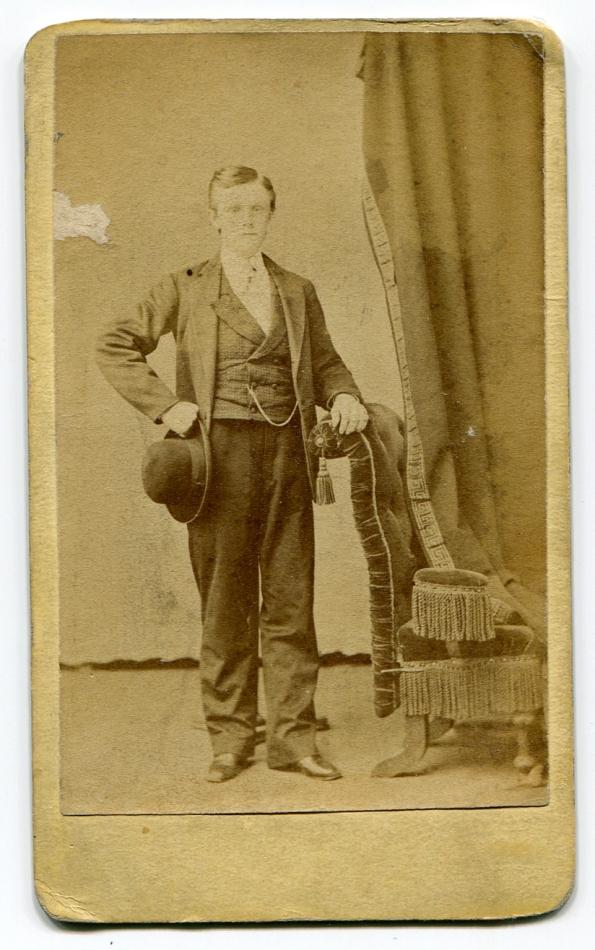 Gentleman antique photo