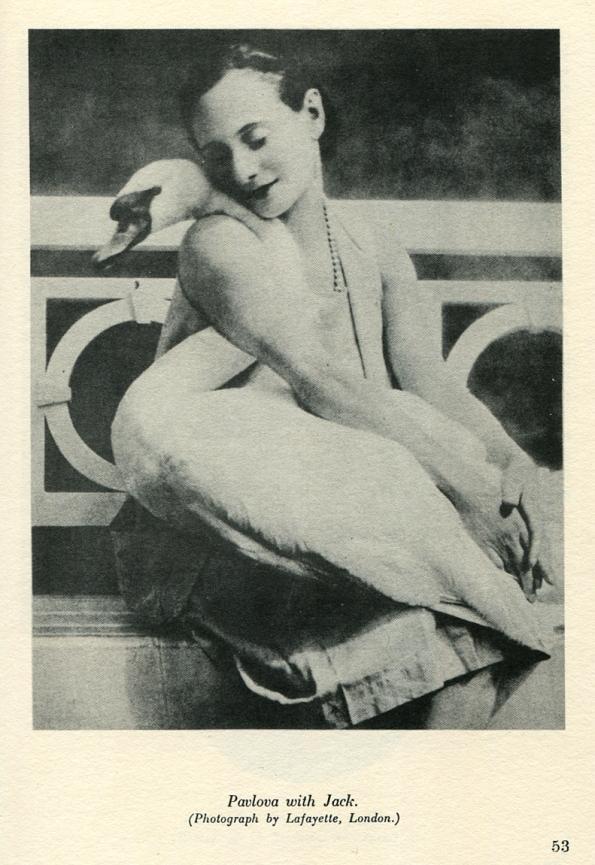 Anna Pavlova with Jack