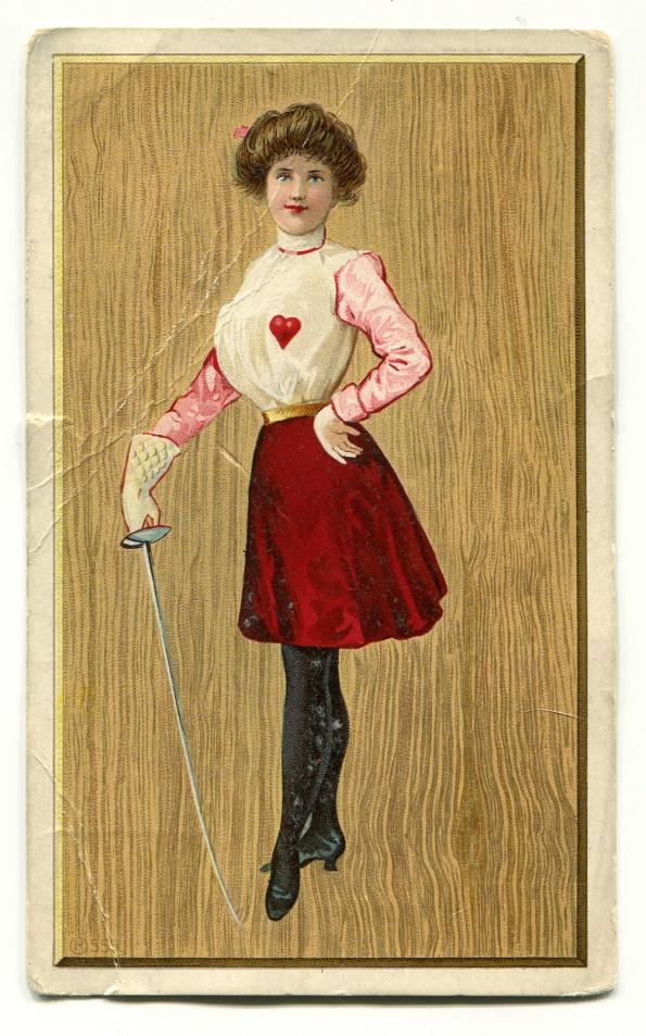 124 antique postcard valentine
