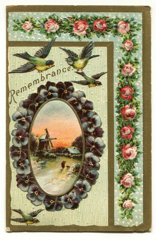 127 antique postcard 1910