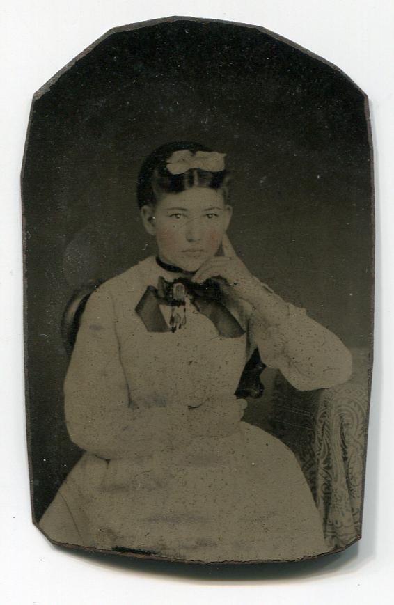 Tintype girl 01