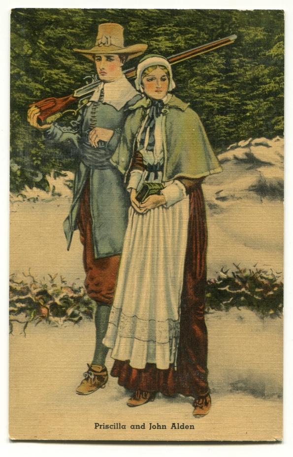 131 antique postcard 1945