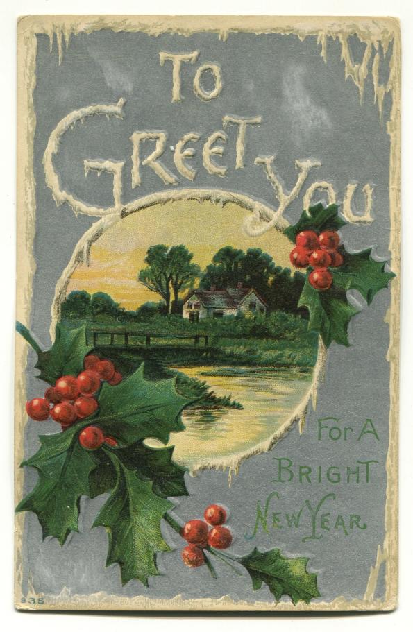 132 antique postcard