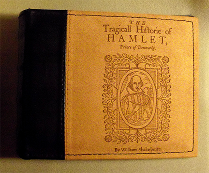 Hamlet-leather-art-book-cover