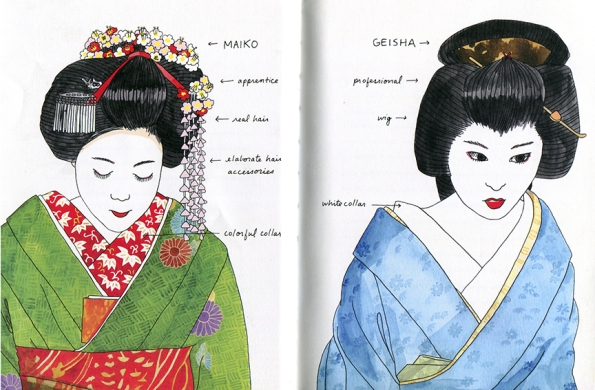 Kate Williamson geisha