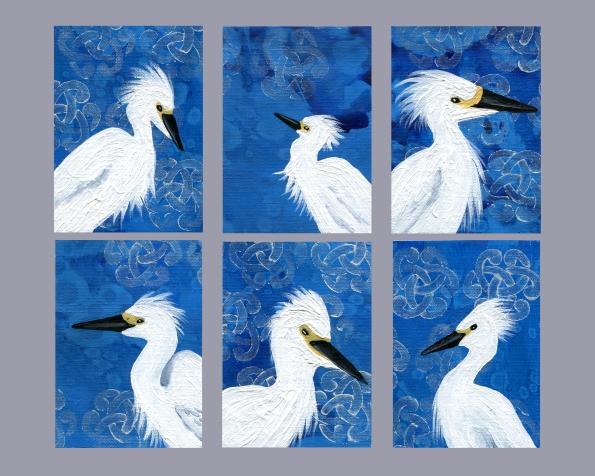 ATC Snowy Egret Series
