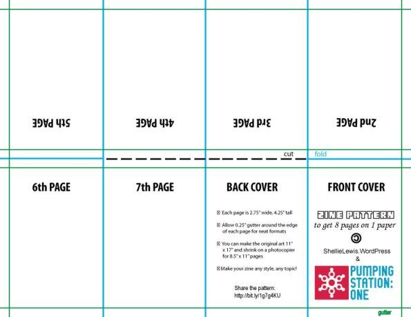 Zine-pattern-8-page