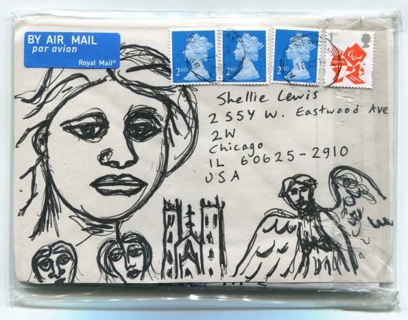 Mail Art James Wilkinson 2014