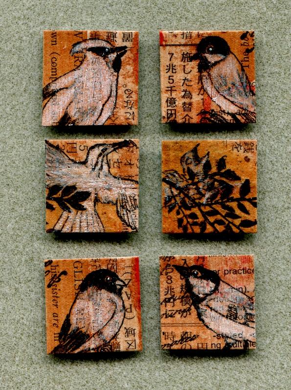 bird inchies 2013