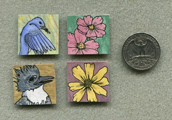 Painted inchies 2012