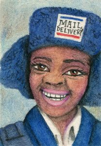 ATC Letter Carrier by Shellie Lewis