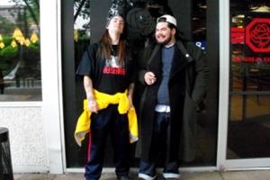 Jay & Silent Bob cosplay