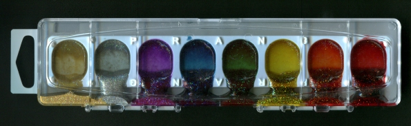 melted Prang watercolors