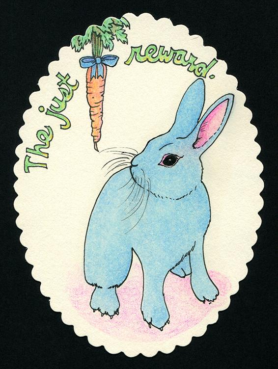 bunny card web